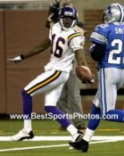 Kelly Campbell Minnesota Vikings 8X10 Photo