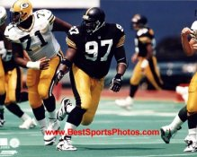 Ray Seals LIMITED STOCK Pittsburgh Steelers 8x10 Photo