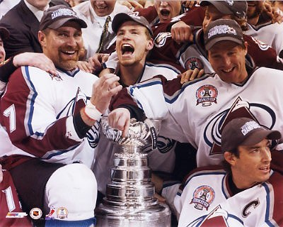 Celebration 2001 Stanley Cup 8x10 Photo Ray Bourque  LIMITED STOCK
