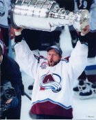 Jon Klemm with Cup 2001 Stanley Cup 8x10 Photo LIMITED STOCK