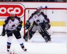 Patrick Roy and Jon Klemm 2001 Stanley Cup 8x10 Photos