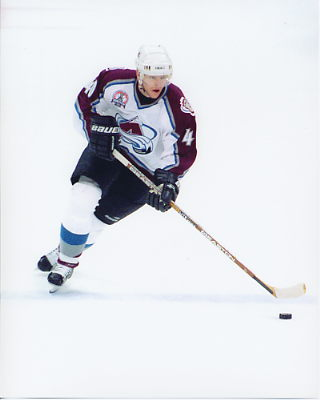 Alex Tanguay 2001 Stanley Cup 8x10 Photo