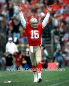 Joe Montana San Francisco 49ers SATIN 8X10 Photo