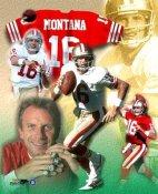 Joe Montana San Francisco 49ers SATIN 8X10 Photo