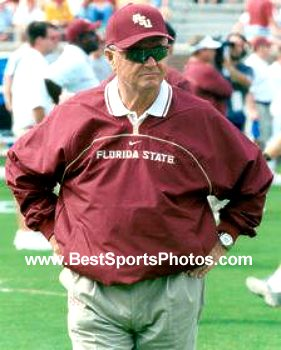 Bobby Bowden Florida State 8X10 Photo
