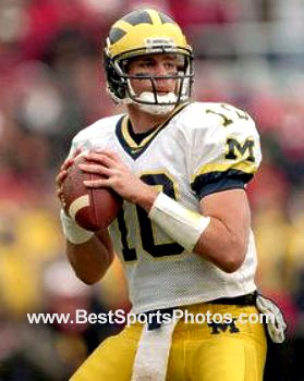 Tom Brady Michigan Wolverines 8X10 Photo