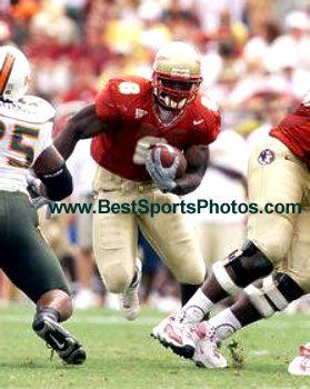 Greg Jones Florida State 8X10 Photo