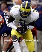 Marlin Jackson Michigan Wolverines 8X10 Photo