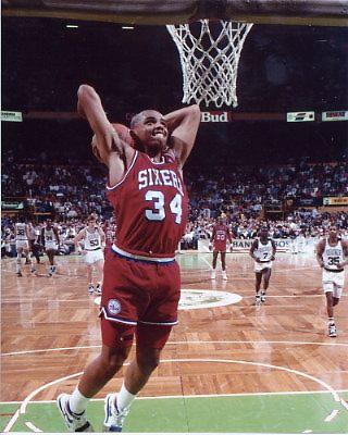Charles Barkley Philadelphia 76ers 8X10 Photo LIMITED STOCK