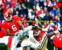 Sean Jones Georgia Bulldogs 8X10 Photo