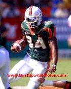 Jarrett Payton Miami Hurricanes 8X10 Photo