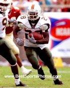 Clinton Portis Miami Hurricanes 8X10 Photo