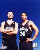 Trajan Langdon and Andre Miller LIMITED STOCK Cleveland Cavaliers 8X10 Photo