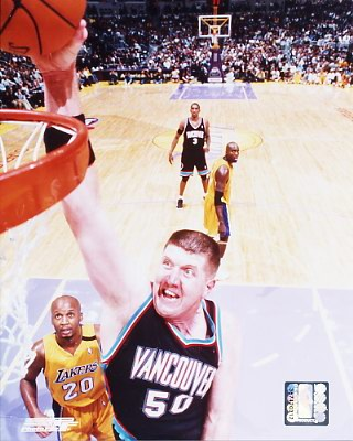 Bryant Reeves Memphis Grizzlies 8X10 Photo LIMITED STOCK