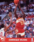 Dominique Wilkins Atlanta Hawks Studio 8X10 Photo LIMITED STOCK
