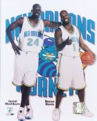 Mashburn and Davis New Orleans Hornets 8X10 Photo LIMITED STOCK