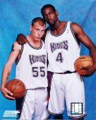 Williams and Webber Sacramento Kings 8X10 Photo LIMITED STOCK