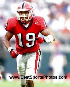 Hines Ward Georgia Bulldogs 8X10 Photo