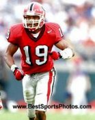 Hines Ward Georgia Bulldogs 8X10 Photo