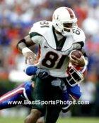 Kellen Winslow Jr. Miami Hurricanes 8X10 Photo
