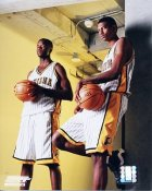 O'Neil and Bender Indiana Pacers 8x10 Photo LIMITED STOCK