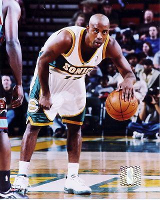 Kenny Anderson Seattle Sonics 8X10 PhotoLIMITED STOCK