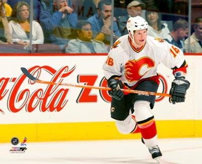 Shean Donovan Calgary Flames 8x10 Photo