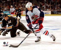 Trevor Letowski Columbus Blue Jackets 8x10 Photo