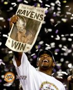 Ray Lewis MVP LIMITED STOCK Ravens SB35 8x10 Photo