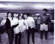 Muhammad Ali and The Beatles Boxing 8x10 Photo