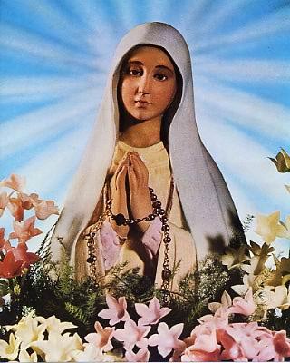 O.L. of Fatima 8x10 Photo