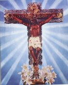 Prayer to Christ of Miracles 8x10 Photo