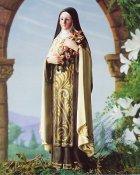 Prayer to St. Theresa 8x10 Photo