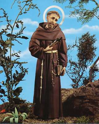 St. Francis of Assisi 8x10 Photo