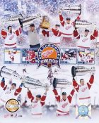 Limited Edition Detroit Red Wings 2002 Stanley Cup Champs 8X10 Photo