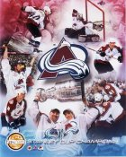 Avalanche 2001 Limited Edition Colorado Stanley Cup Champs 8X10 Photo