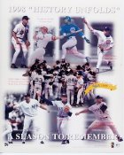 1998 A Season To Remember Limited Edition of 1998 NUMBERED Cal Ripken, Jr., Roger Clemens, David Wells, Mark McGwire etc. 8X10 Photo