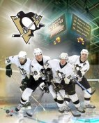 Sidney Crosby and Mario Lemieux Pittsburgh Penguins Big 4 8x10 Photo  LIMITED STOCK-