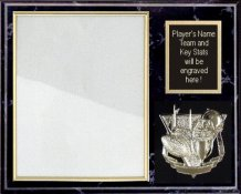 Photo Plaque 12x15 Black Marble. Can mount any 8x10 Photo