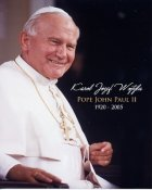 Pope John Paul II 8X10 Photo