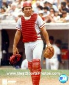 Johnny Bench Cincinnati Reds SATIN 8X10 Photo