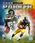 "Willie Parker ""Fast Willie"" Steelers 8x10 Photo"