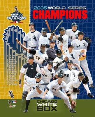 Chicago 2005 LIMITED STOCK World Series Champs Composite Team Photo 8X10