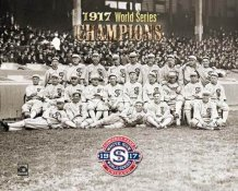 Chicago 1917 World Series Team White Sox 8x10 Photo