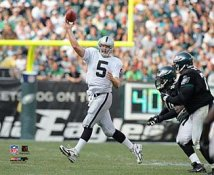 Kerry Collins Oakland Raiders 8X10 Photo