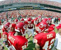 Kansas City Chiefs Huddle 8X10 Photo