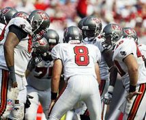 Bucs 2005 Tampa Bay Huddle 8x10 Photo
