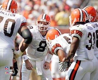 Cleveland 2005 Browns Huddle 8X10 Photo