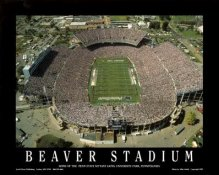 A1 Beaver Stadium Aerial Penn State Nittany Lions 8x10 Photo