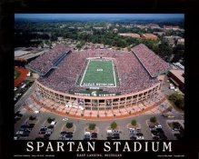 A1 Spartan Stadium Aerial Michigan State 8x10 Photo